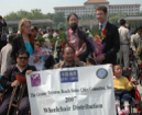 Qufu Wheelchair Donation 2