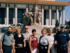 Sister City Delegation in Beijing Tian anmen